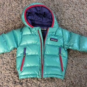 Patagonia infant puffer jacket